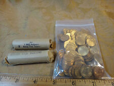 Lot Of 248 Arizona 1 Mill Brass State Sales Tax Tokens - Free S&H USA
