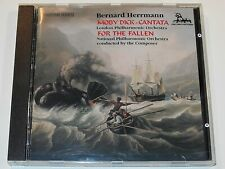 Bernard Herrmann MOBY DICK CANTATA and FOR THE FALLEN U-K CD (VG+)