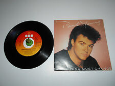 Paul Young - Everything must Change (1984) Vinyl 7` inch Single Vg +