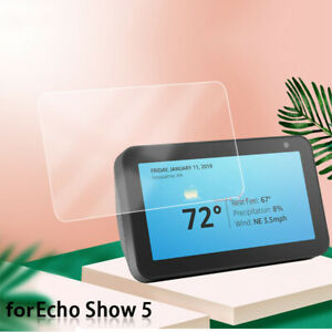 Screen Protector HD Tempered Glass Protective Film Guard for Amazon Echo Show 5