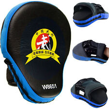 2pcs New Target MMA Boxing Mitt Focus Punch Pad Training Glove Karate Muay Blue