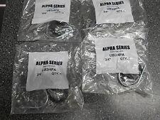 "LOT OF 4 CUSH-A-CLAMP U-BOLT ALPHA SERIES UB3/4PA 3/4"""