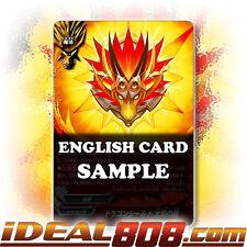 Buddyfight x 4 Sun Dragon Shield [X-BT01A-CP01/0064EN C] English Mint Future Car