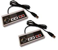 2 x PC USB NES Retro Style Control Joy Pad Controller UK Seller