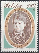 Poland 2002 - Maria Konopnicka - Fi 3824 MNH**
