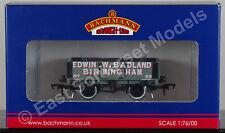 BACHMANN 37-062A - 5 Plank Wooden Floor Wagon - Edwin.W.Badland [NEW]
