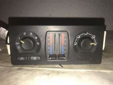 Heat A/C Climate Temperature Controls 2003-2009 GMC ENVOY CJ3