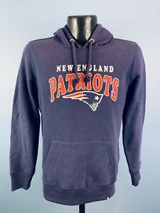 Women's '47 Brand NFL Football New England Patriots Navy Blue Sweatshirt Small