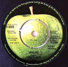 """JOHN LENNON - Imagine (7"""") (G/VG-)"""