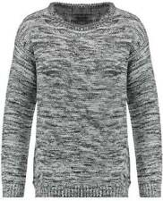 Acrylic Crewneck Machine Washable Regular Jumpers & Cardigans for Women