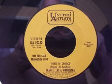 45=PROMO ! FRANCIS LAI THEME TO CANDICE / LIVE FOR LIFE ON UNITED ARTISTS