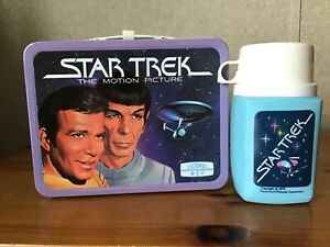 VINTAGE STAR TREK LUNCHBOX AND THERMOS
