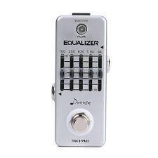 Donner Equalizer Pedal 5-band Graphic EQ Guitar Effect Pedal