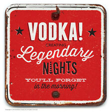 Brainbox Candy novelty vodka beer drinks mat coaster funny cheap present gift