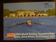 FISA World Rowing Championships, Eton, Great Britain, 2006 - Bulletin 1