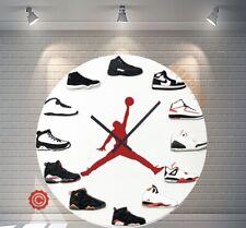 """New 12"""" Clock Jordan 1-12 OG ALT 2D Quartz nike supreme off white yeezy sneaker"""