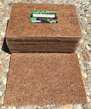 "Gro-Greens Coco Mat (5.25""x7.5"") Pack of 10 - grow media for growing Microgreens"