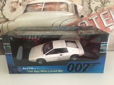 1:18 Autoart Lotus Esprit James Bond L'espion qui m'aimait diecast scale model voiture