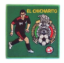 MEXICO SOCCER AZTECA FUTBOL TRI SELECCION CHICHARITO WORLD CUP MANCHESTER PATCH