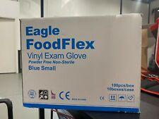 Food Flex Vinyl Gloves Blue (1000 box)