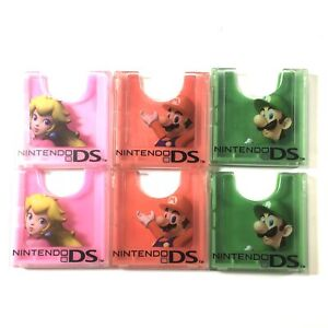 Nintendo DS 6 Pack Cartridge Cases