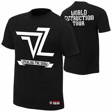 WWE DOLPH ZIGGLER WORLD DZTRUCTION LICENSED AUTHENTIC ADULT MENS T-SHIRT X-LARGE