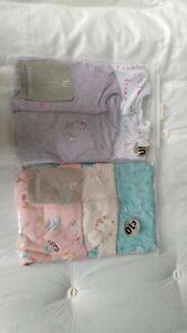 5 Brand New  Sleepsuits (1 month old)