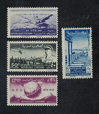 CKStamps: Syria Stamps Collection Scott#349-350 C154-C155 Mint NH OG