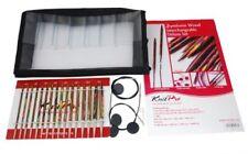 Knitpro 20613 Stricknadel-set Deluxe madera Symfonie puntas aguja