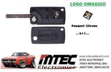 K11 Schale Fernbedienung 3 Buttons Ersatz Schlüssel Für Peugeot 207 307 407 308