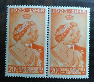 1948 King George VI - Royal Silver Wedding - 20c MNH KUT Kenya Uganda Tanganyika