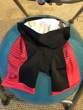 Pearl Izumi Womens Elite Triathlon Short - Black/Pink, Size Small
