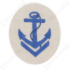 Kriegsmarine Boatswain Senior NCO Trade Badge - WW2 Repro Patch German Navy New