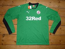 Crawley Town FC Camiseta de Fútbol 2014/15 Tamaño: XL Verde Gk Jersey