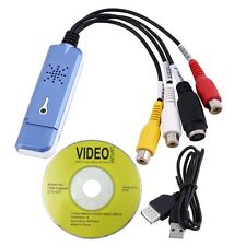 Easycap usb 2.0 video audio capture Grabber card RCA input for Win XP/ 7 / 8