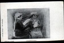 LE DORAT (87) LIMOUSINES / FEMME à la LECTURE & BRODEUSE début 1900