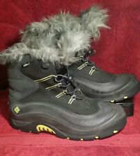 Women's Columbia Boots 200 grams BL1149-010 size 11 waterproof Bugalicious Black