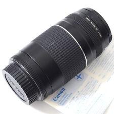 MINT Canon EF 75-300mm f/4-5.6 III Telephoto Zoom Lens T3i T5i T5 T3 60D 70D