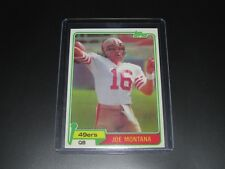 1981 TOPPS JOE MONTANA ROOKIE REPRINT 49ERS #216 NOVELTY