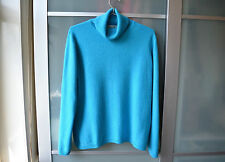 Women's Cashmere No Pattern Polo Neck Hip Length Jumpers & Cardigans