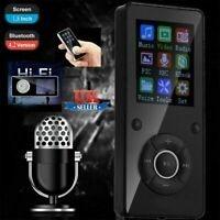 32GB MP3 Player Bluetooth MP4 Video Spieler FM Radio Recording E-book TF W3L0.