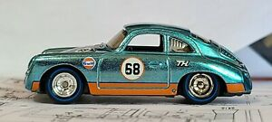Hot Wheels 2021 Super Treasure Hunt '68 Porsche 356 Outlaw Gulf * UNSPUN * STH