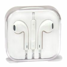Auriculares blancos Apple
