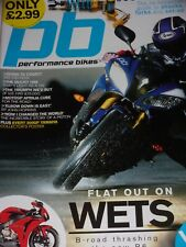 Performance Bikes 03/08 Guy Martin tests Honda Fireblade  CBR1000RR Yamaha R6,