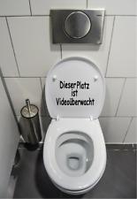 WC Deckel Aufkleber  Toiletten Tattoo, Klo  Bad,