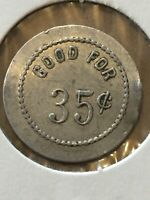 Token Coin, Good For 35 Cents In Trade Token, Old Coin Vintage T3