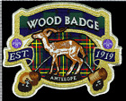 Wood Badge Antelope Patch Critters from the UK