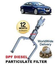 FOR JAGUAR XF 3.0 TD DIESEL AJD V6 ENGINE 2009--> DPF DIESEL PARTICULATE FILTER
