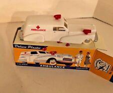 Dimestore Dreams, Deluxe Plastic Ambulance, 1:43 Scale, Boxed, No. 20000