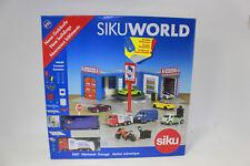 Siku 5507 Werkstatt für SIKU World mit Hebebühne + Rolltor + 2 Pkws NEU in OVP